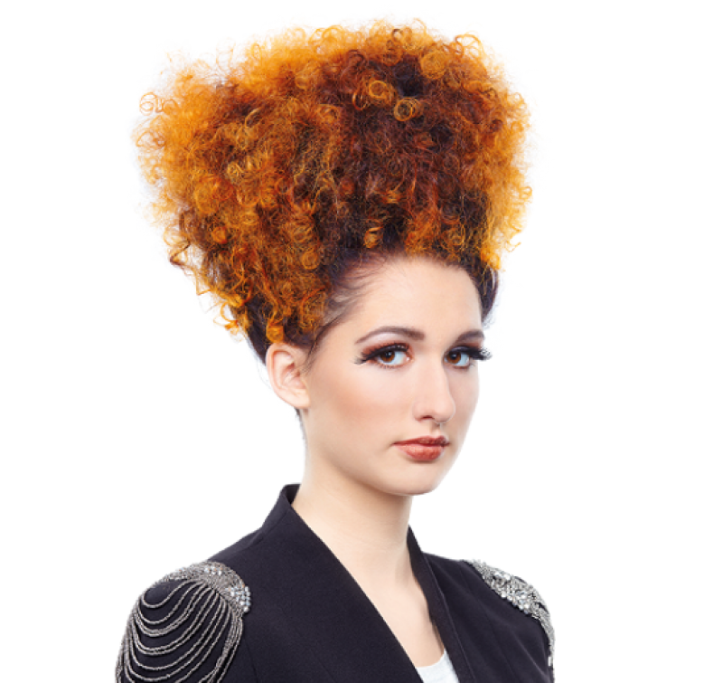 KLIPP Trendfrisuren 2014 - play a head - Fetzige Locken mit faszinierendem Ombré